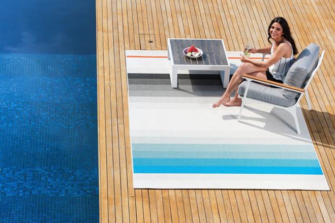 Rug/ Home Decor  pool Model Location Photography Sydney