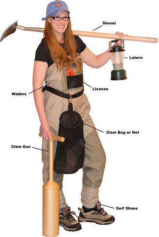 Clamming Equipment