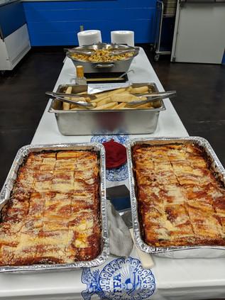 Lasagna buffet
