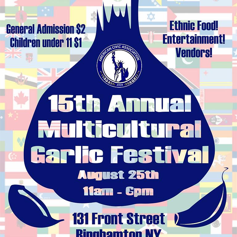 15th Annual Garlic Festival