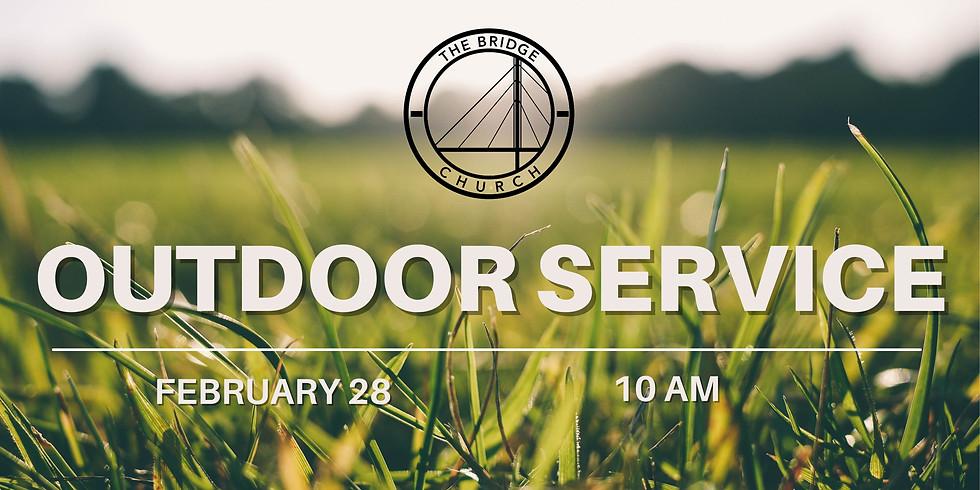 Outdoor Service - 10am