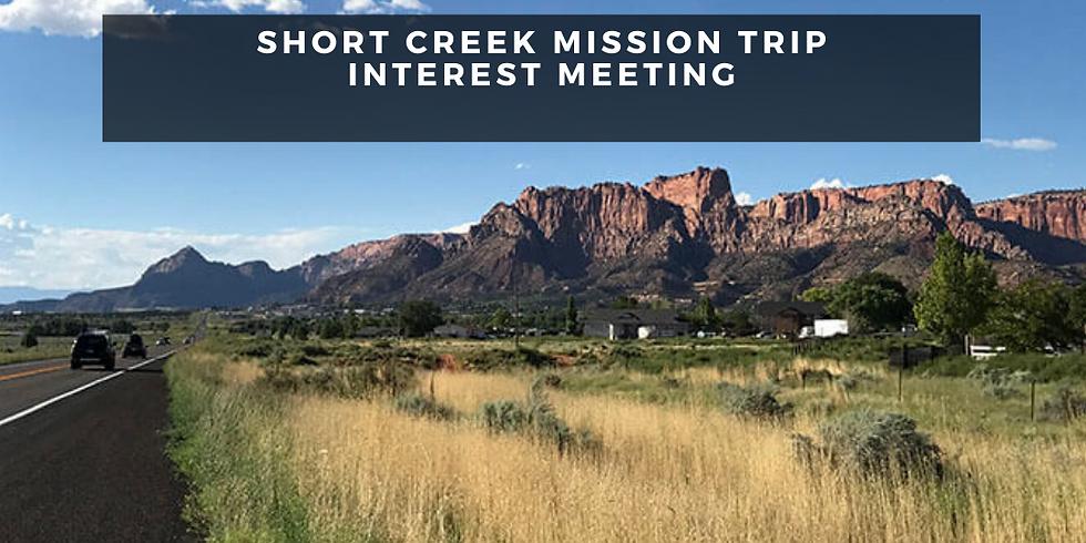 MISSION TRIP INTEREST MEETING