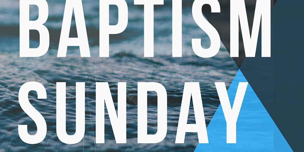 BAPTISM SUNDAY