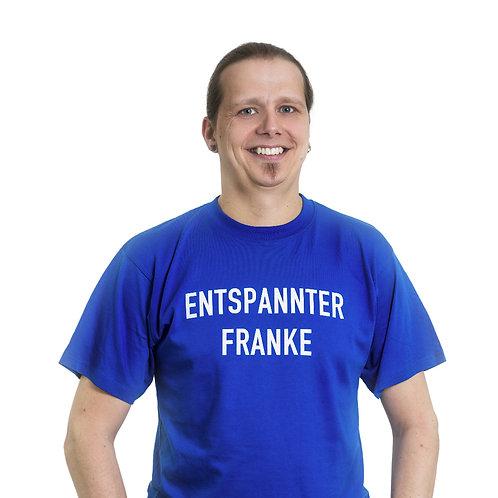 "Shirt ""Entspannter Franke"""