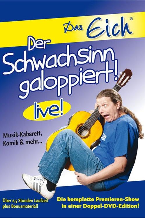 """Doppel-DVD """"Der Schwachsinn galoppiert!""""!"""