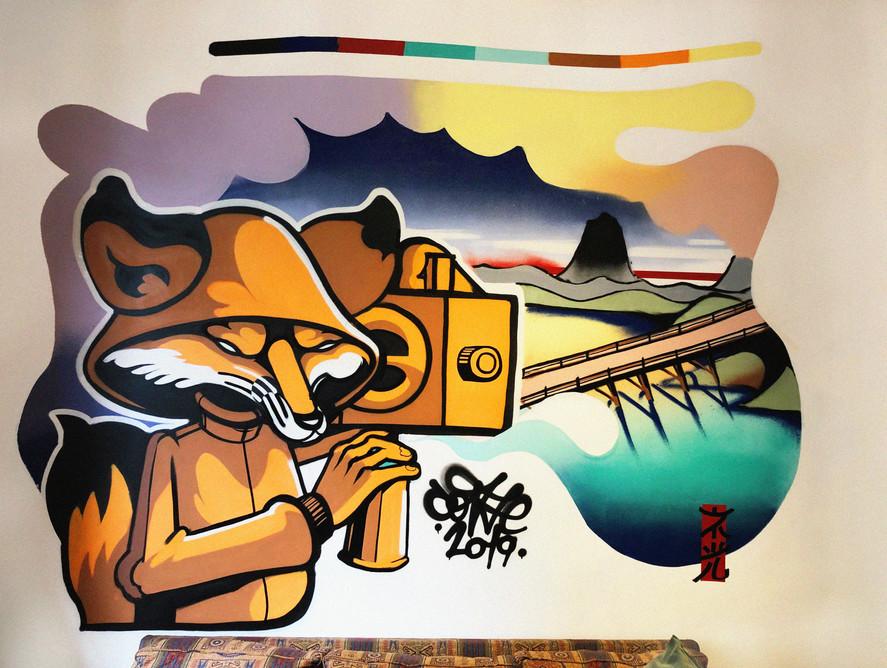 Interior graffiti
