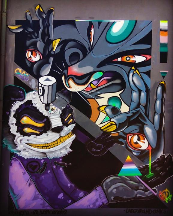 Graffiti feat Seg