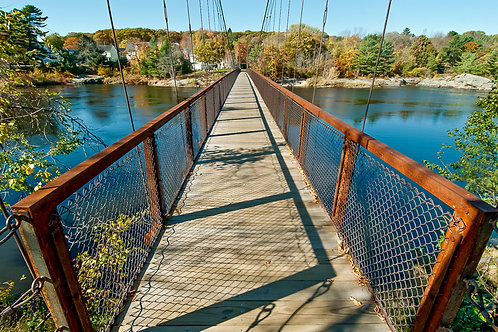 Suspension Bridge (Brunswick, ME)
