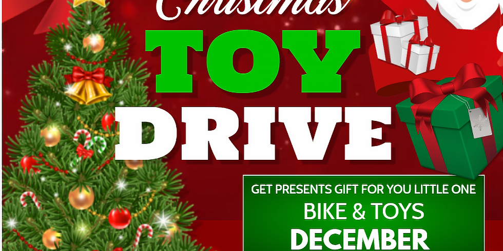 CHRISTMAS TOY'S DRIVE 2020