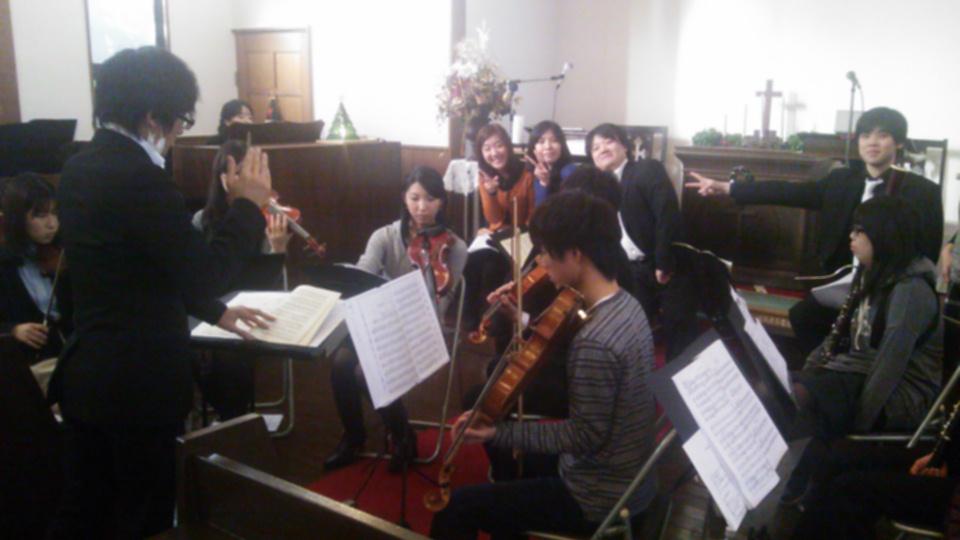 2012年 クリスマス礼拝
