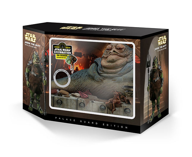 Jabba the Hutt Palace Guard Con Exclusiv