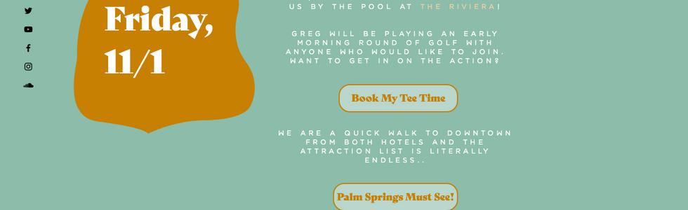Kai & Greg Palm Springs Wedding Site