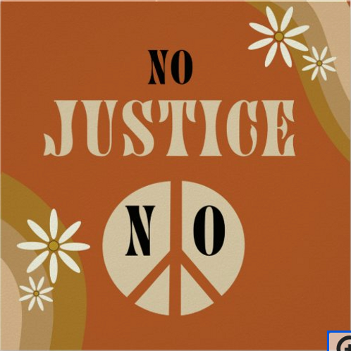 """""""No Justice No Peace"""" Print"""