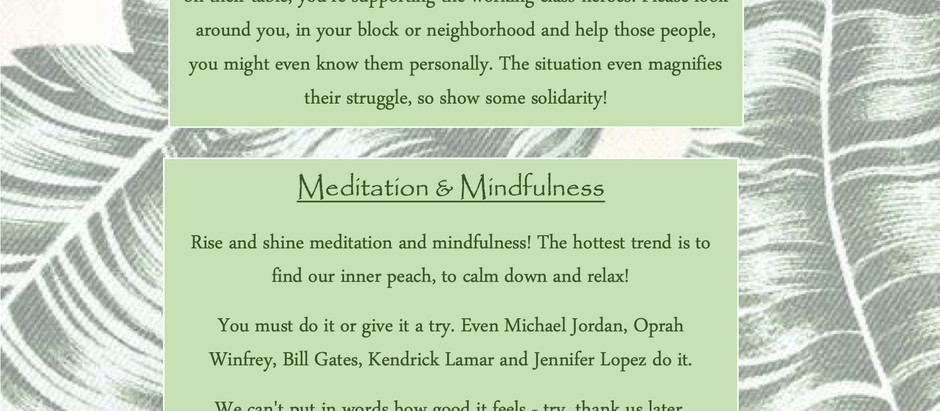 Well-Being & Mindfulness🧘♂️🧘♀️