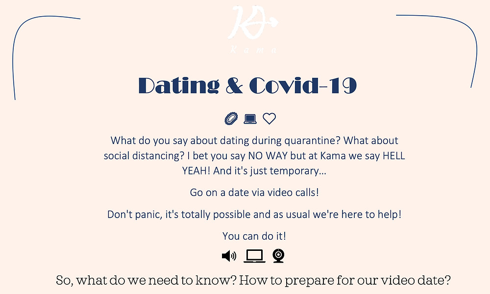 Video-Chat Dates Coming Soon