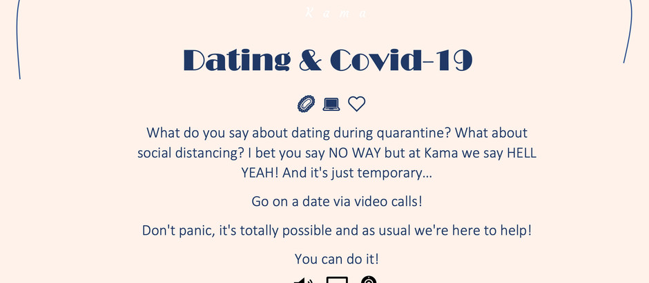 Date While in Quarantine!? Coming Soon!🤗