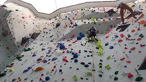 Halle Klettern