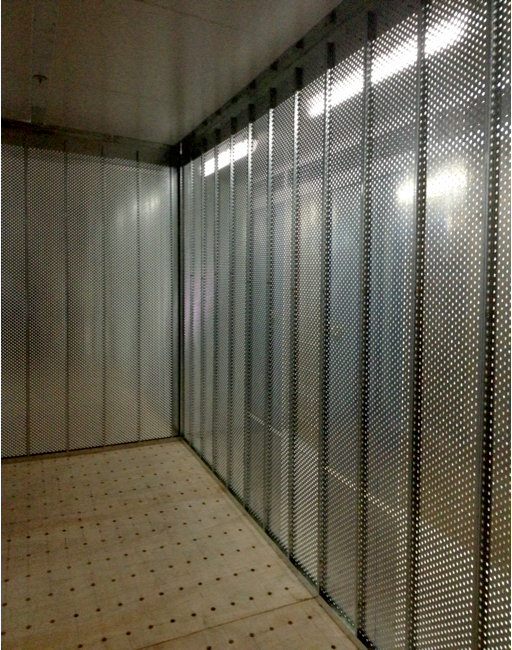 Wine Storage Perforated System