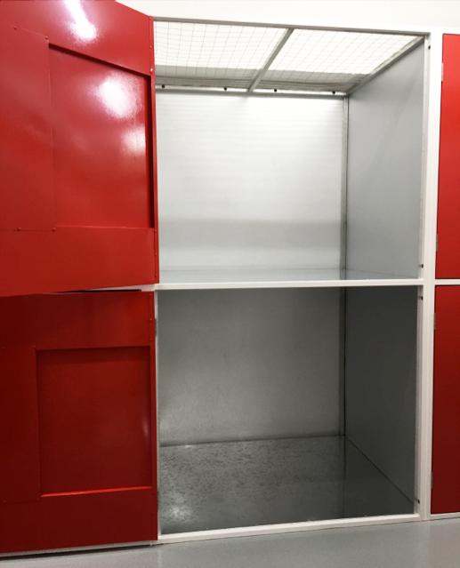 Pre Fab Locker System
