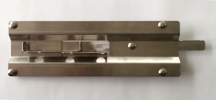 Recess Latch for Roller Door