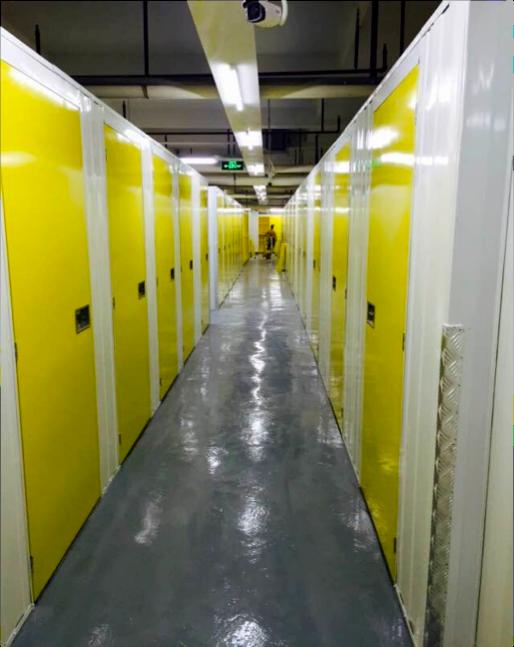 Mini Storage Partitions