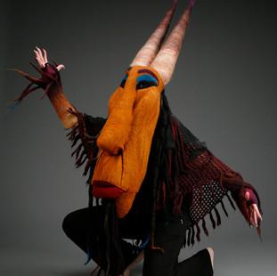 Horned Man Mask