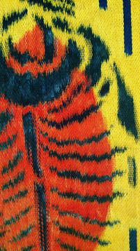 Painted Warp Weaving