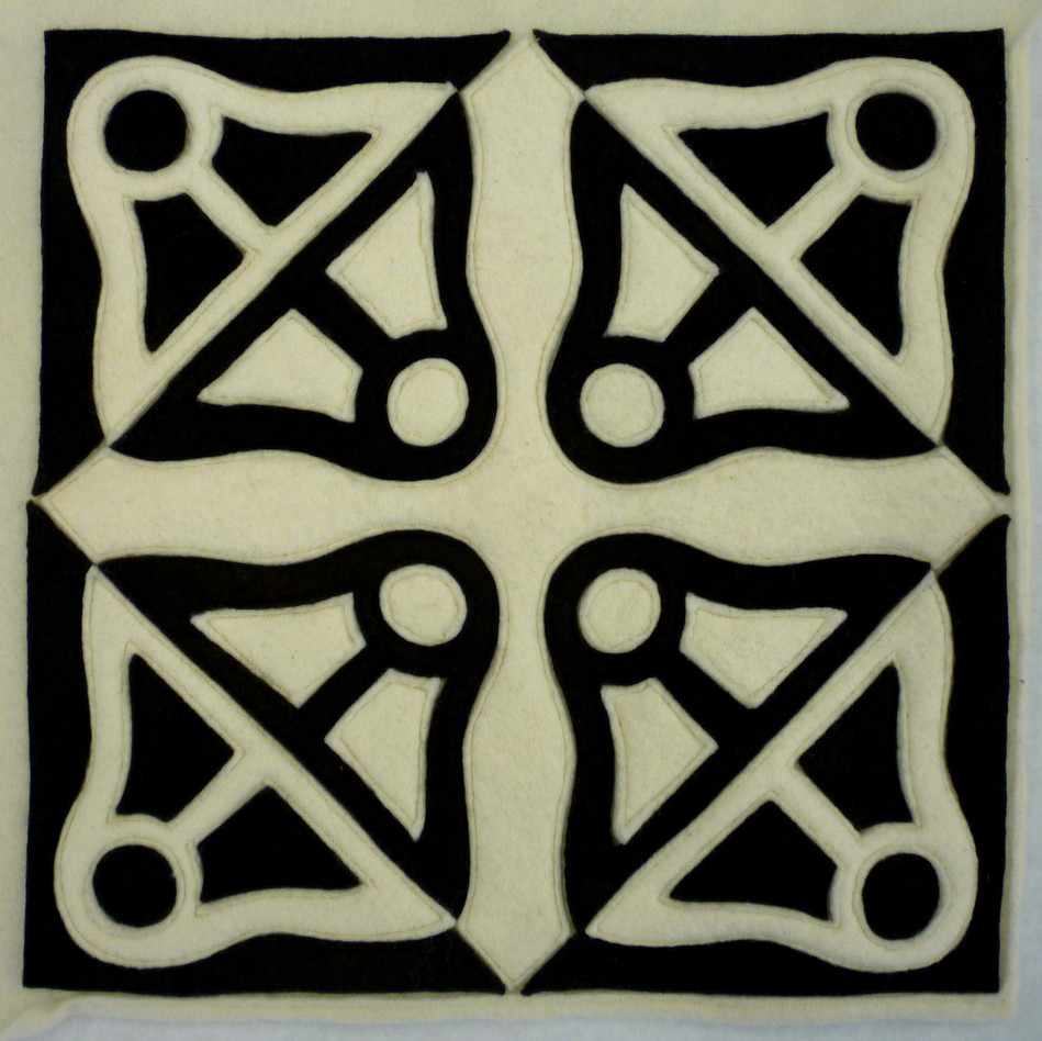 Tesselation Cut-out Rug