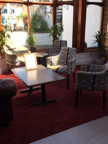 Comfortable informal seating