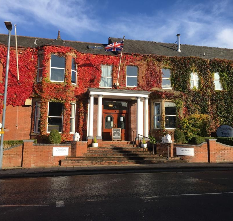 Entrance to The Cumbria Park Hotel