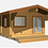 Thumbnail: Parson 15 ft. 7 in x 18 ft 8 in Log  Cabin D.I.Y.  Building kit