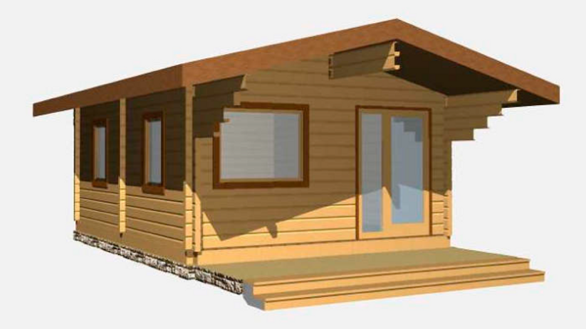 Parson G90 15 ft. 7 in x 18 ft 8 in Log  Cabin D.I.Y.  Building kit
