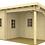 Thumbnail: Samiam sauna pool house is 17 ft. 5 inx 13 ft.  building kit