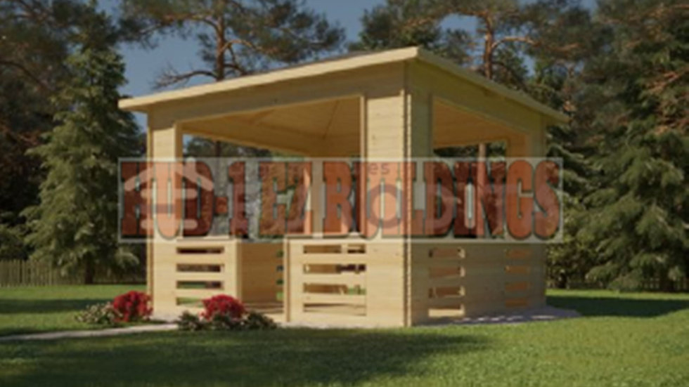 Timba 11 ft. 4 in. x 11 ft. 4 in.  Pavilion style  D.I.Y. building kit
