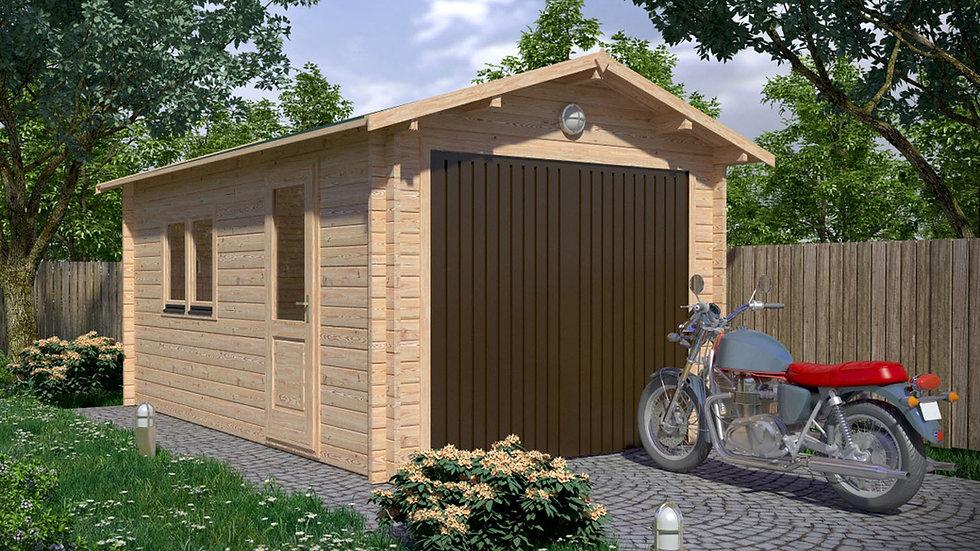 Garage J28mm 10 ft. 5 in. x 17 ft.  178 sq. ft. D.I.Y. building kit