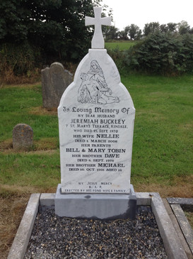 Cleaned By Gerald McCarthy Memorials