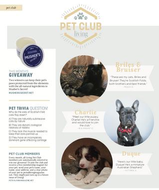 Living Pet Club: April