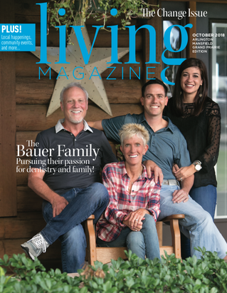 October Cover: Mansfield Family Dentistry