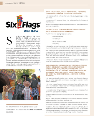 Talk Of The Town: Six Flags Over Texas