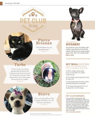 Living Pet Club: September