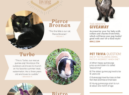 Living Pet Club: September