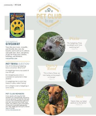 Living Pet Club: June