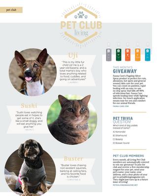 Living Pet Club: January