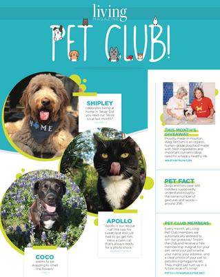 Living Pet Club October