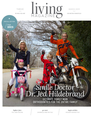 March Cover: Hildebrand Orthodontics