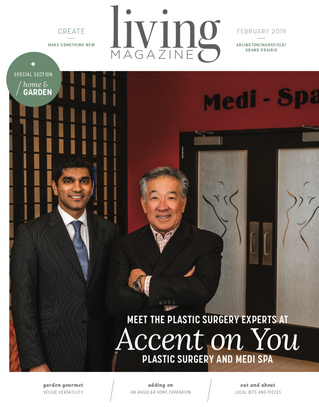 February Cover: Accent on You Plastic Surgery and Medi Spa