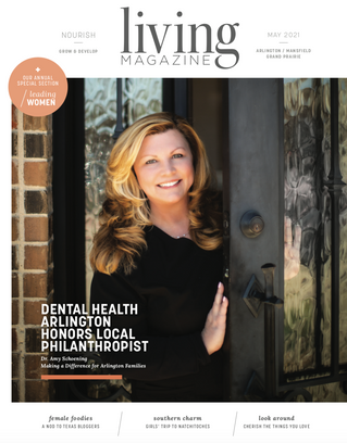 May 2021 Cover: Dr. Amy Schoening DDS