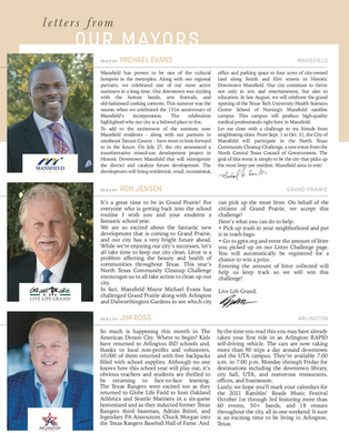 Letter From Our Mayors: September 2021