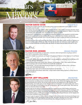 Letter From Our Mayors July