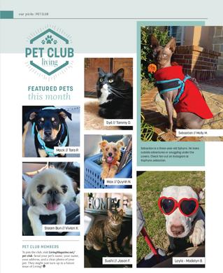 Living Magazine Pet Club